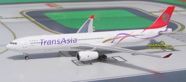 TransAsia Airways Airbus A330-343E Reg. B-22101