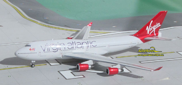 Virgin Atlantic Airways Boeing B747-41R Reg. G-VAST