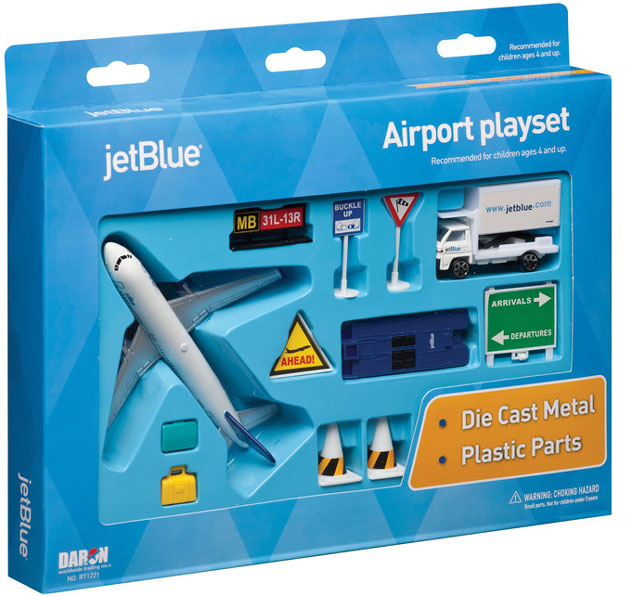 Realtoy Airport Sets JetBlue Airways