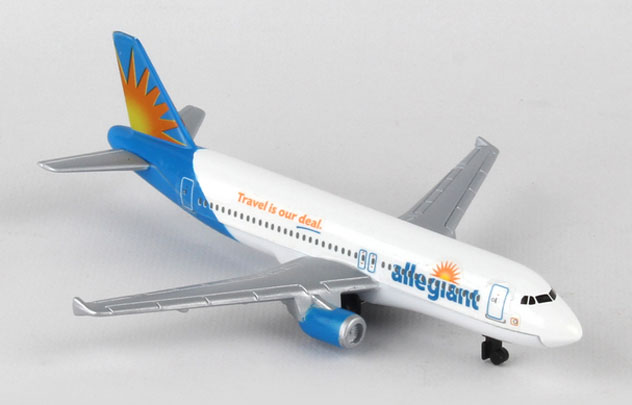 Realtoy Single Plane Set Allegiant Airlines