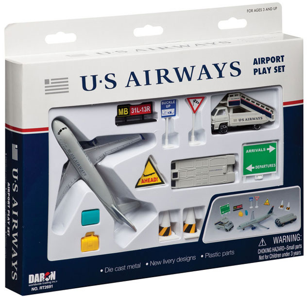 Realtoy Airport Sets US Airways