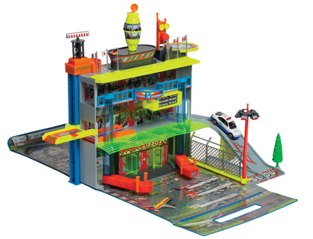 Realtoy Airport Sets Action City Airport Large Terminal Set