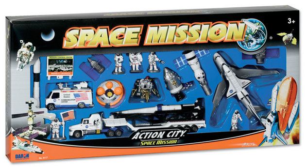 Realtoy Airport Sets NASA Space Shuttle