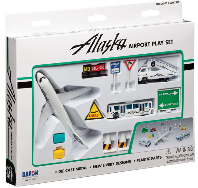 Realtoy Airport Sets Alaska Airlines