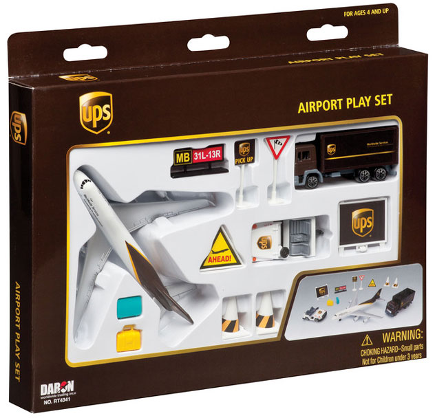 Realtoy Airport Sets UPS - United Parcel Service Airlines