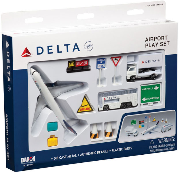 Realtoy Airport Sets Delta Airlines