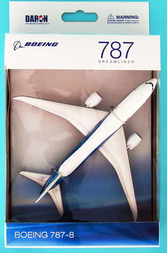 Realtoy Single Plane Set Boeing Dreamliner Model