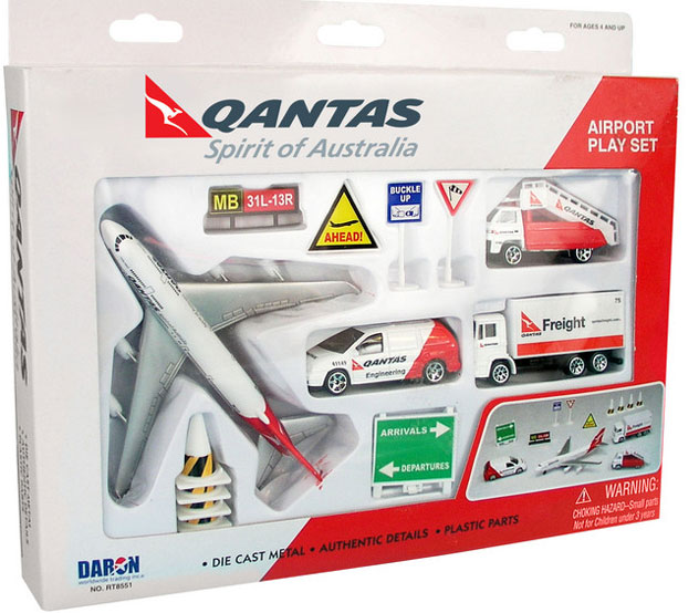 Realtoy Airport Sets^Qantas Airways