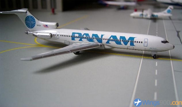 Pan Am Airlines Boeing B727-235 Reg. N4734