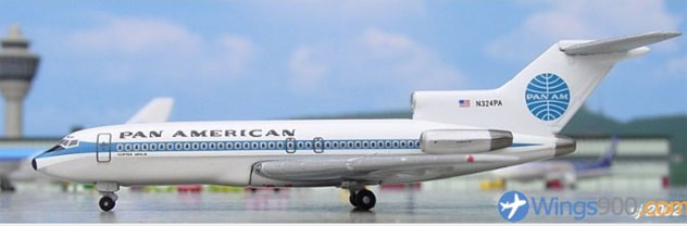 Pan American Airways Boeing B727-021 Reg. N324PA