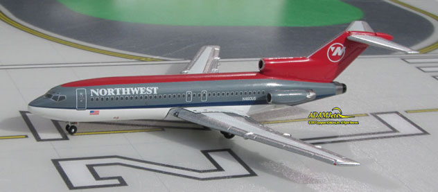 Northwest Airlines Boeing B727-014 Reg. N460US