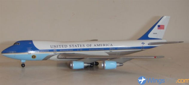 USAF - Air Force One Boeing B747-2G4B Reg. SAM-28000
