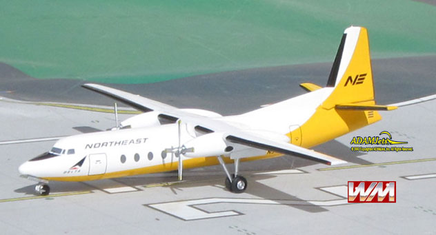 Northeast Airlines Fairchild FH-227 Reg. N378NE