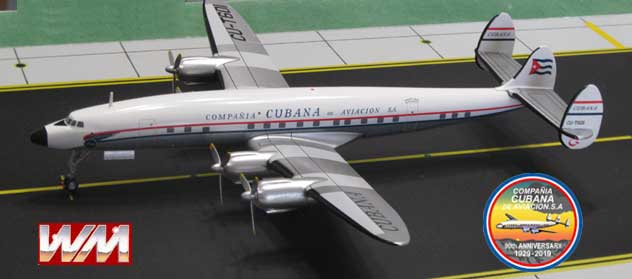 Cubana de Aviacion Airlines Lockheed L-1049G Super Constellation Reg. CU-T601
