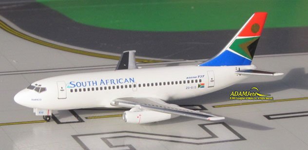 SAA - South African Airways^Boeing B737-244/Adv. Reg. ZS-SIG