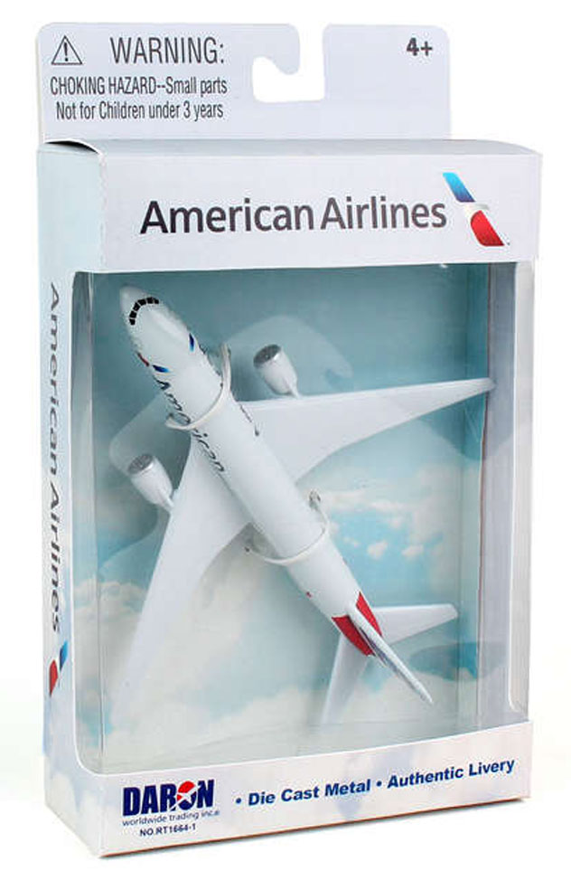 Realtoy Single Plane Set American Airlines
