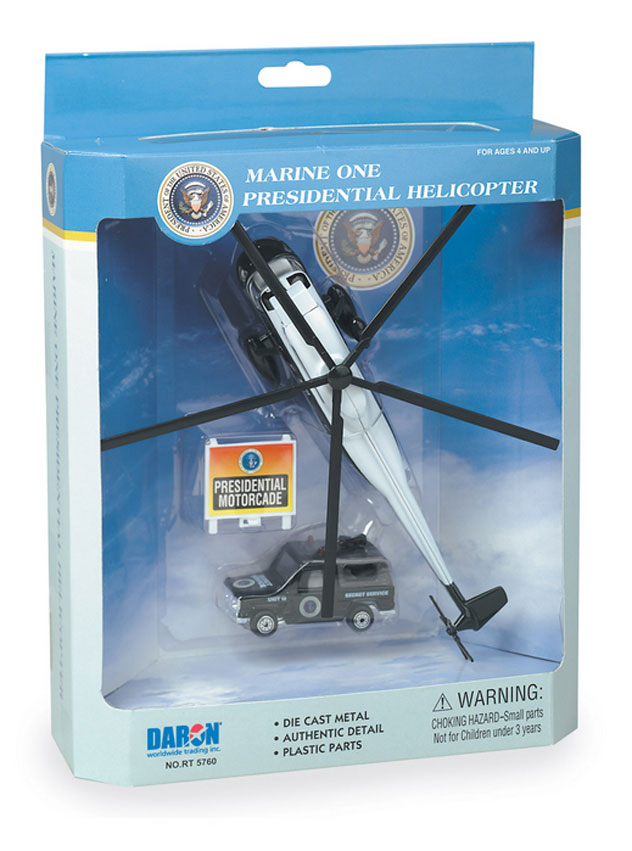Realtoy Single Plane Set USMC - Marine One