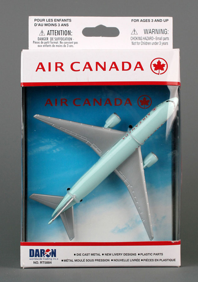 Realtoy Single Plane Set Air Canada Airlines