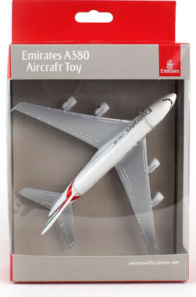 Realtoy Single Plane Set Emirates Airlines